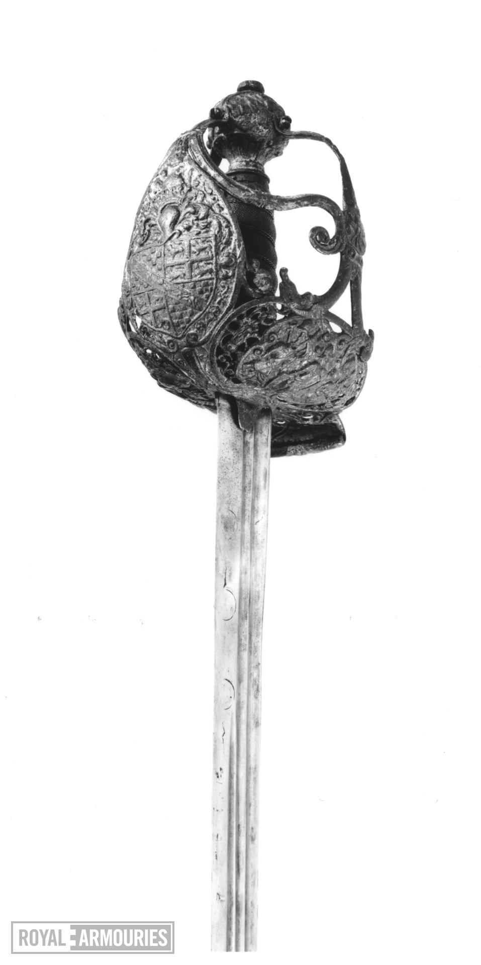 Sword Mortuary hilt