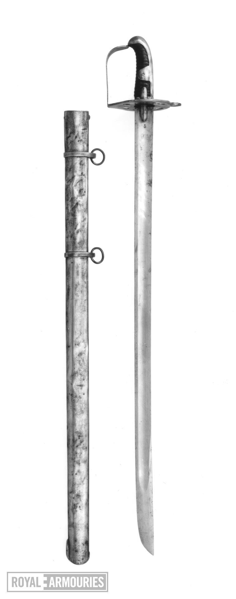 Sword - Heavy Cavalry Sword Pattern 1796 Heavy Cavalry sword