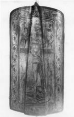 Thumbnail image of Pavise bearing the arms of Zwickau