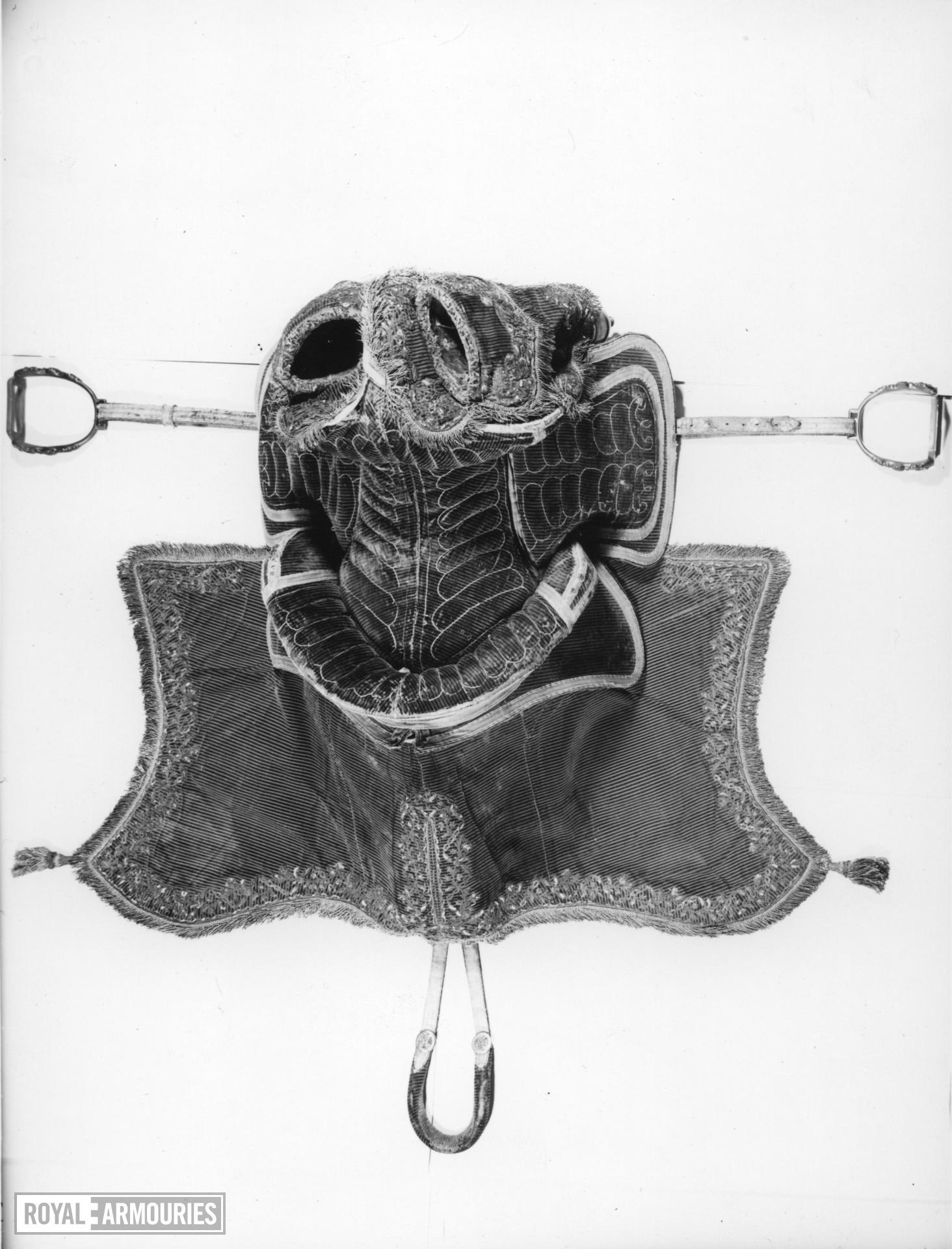 Saddle Of Ernst August, Grand Duke of Saxe-Weimar-Eisenach (1688-1748)