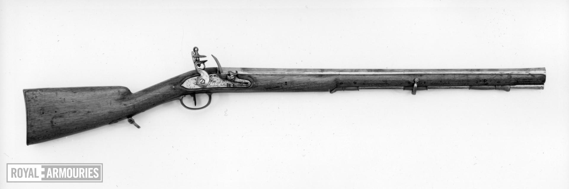 Flintlock muzzle-loading rifle - Model 1793