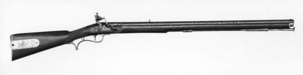 Thumbnail image of Flintlock muzzle-loading rifle - Baker Rifle By E. Baker