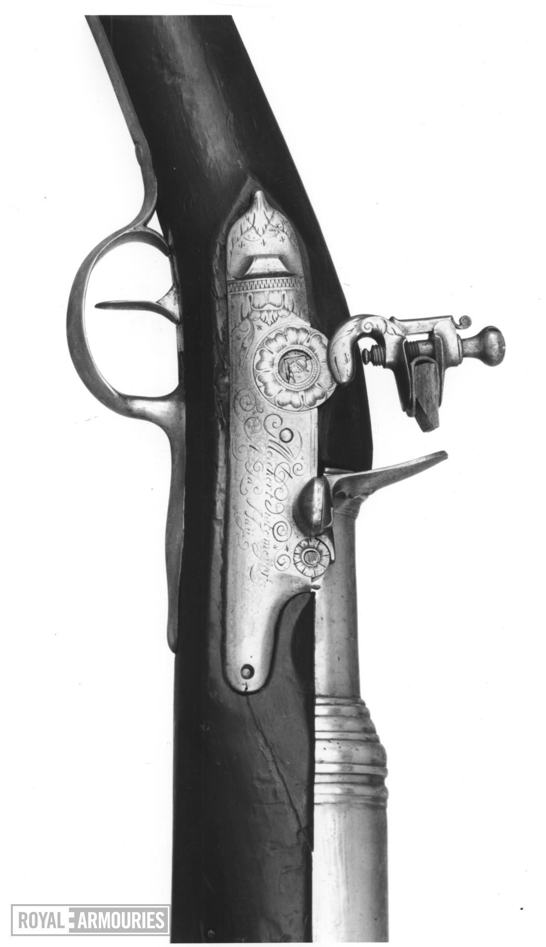 Flintlock musketoon - By Melchert Dietmeyer