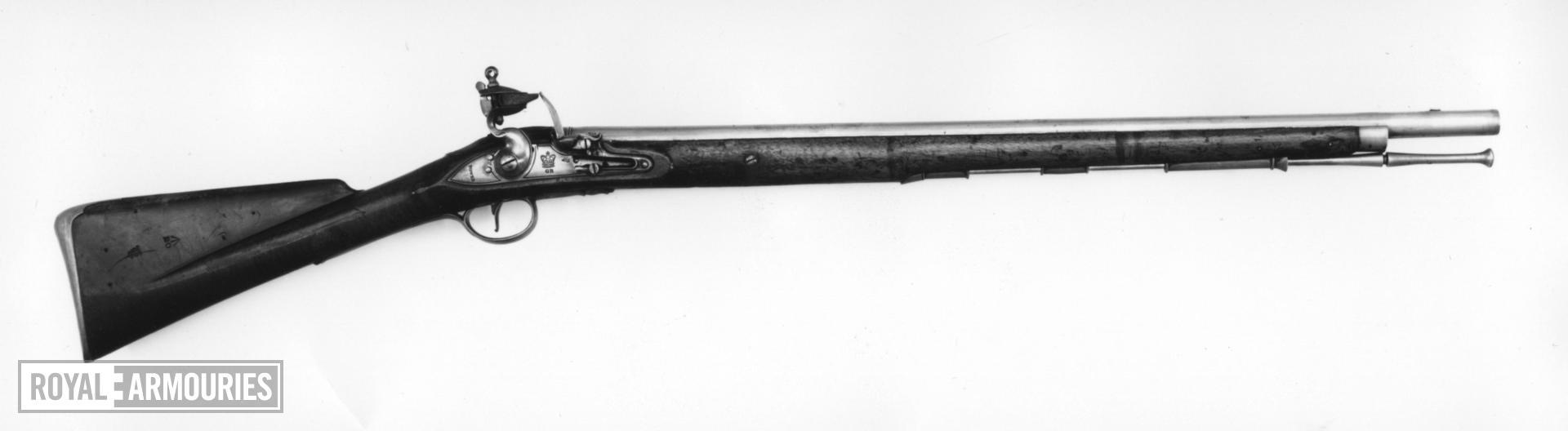 Flintlock military carbine - Pattern 1773 Eliott type 2