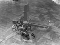 Thumbnail image of Centrefire hand operated machine gun - Nordenfelt