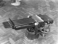 Thumbnail image of Centrefire hand operated machine gun - Nordenfelt Four barrelled heavy calibre model