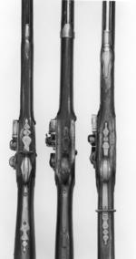 Thumbnail image of Flintlock muzzle-loading musket - Model 1722 Ordinary Musket First regulation issue pattern