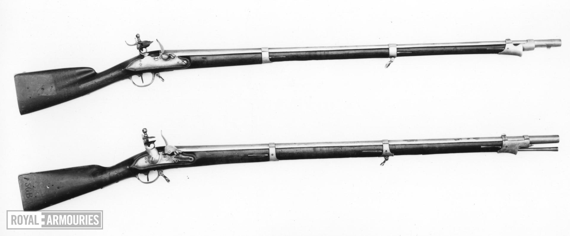 Flintlock muzzle-loading musket - Model 1809