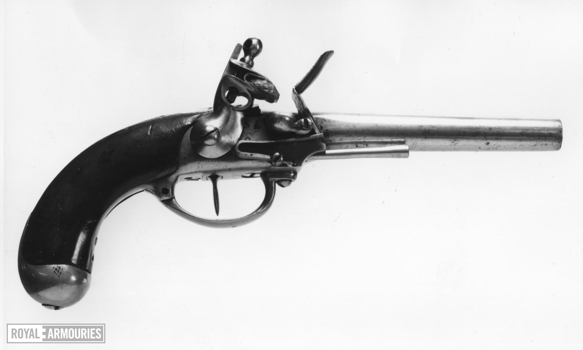 XII.2832, Flintlock pistol, Model 1777