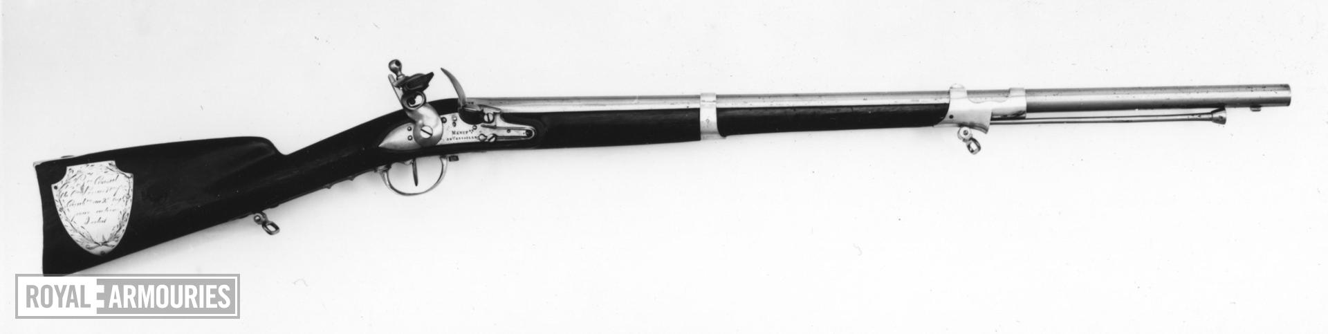 Flintlock muzzle-loading carbine - Modele An IX (1800-01)