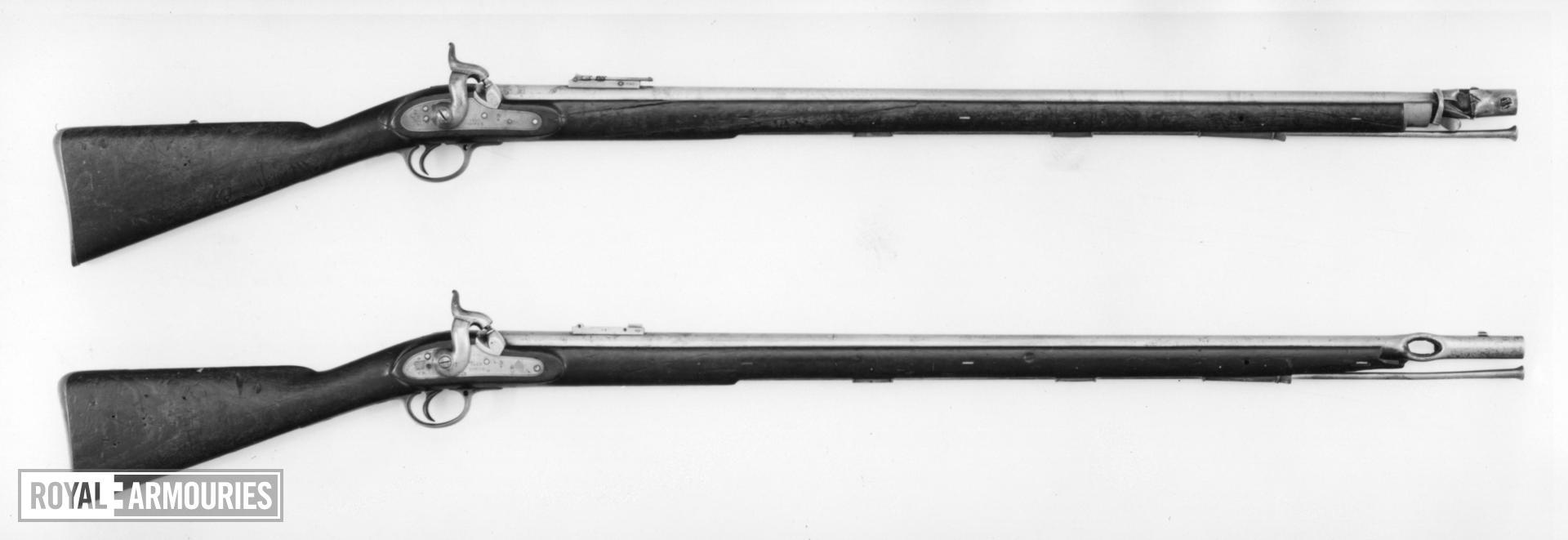 Percussion muzzle-loading military rifle-musket - Minie Pattern 1851