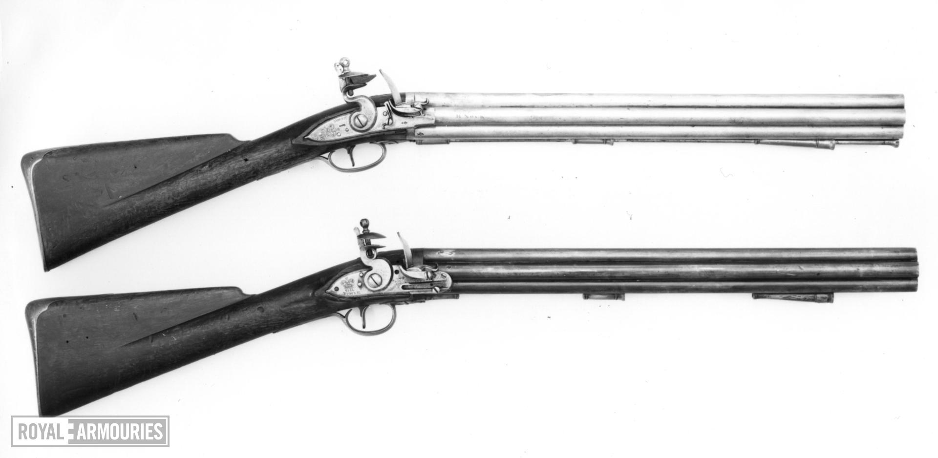 Flintlock military volley gun - Pattern 1780 Nock Volley 1st pattern By H. Nock