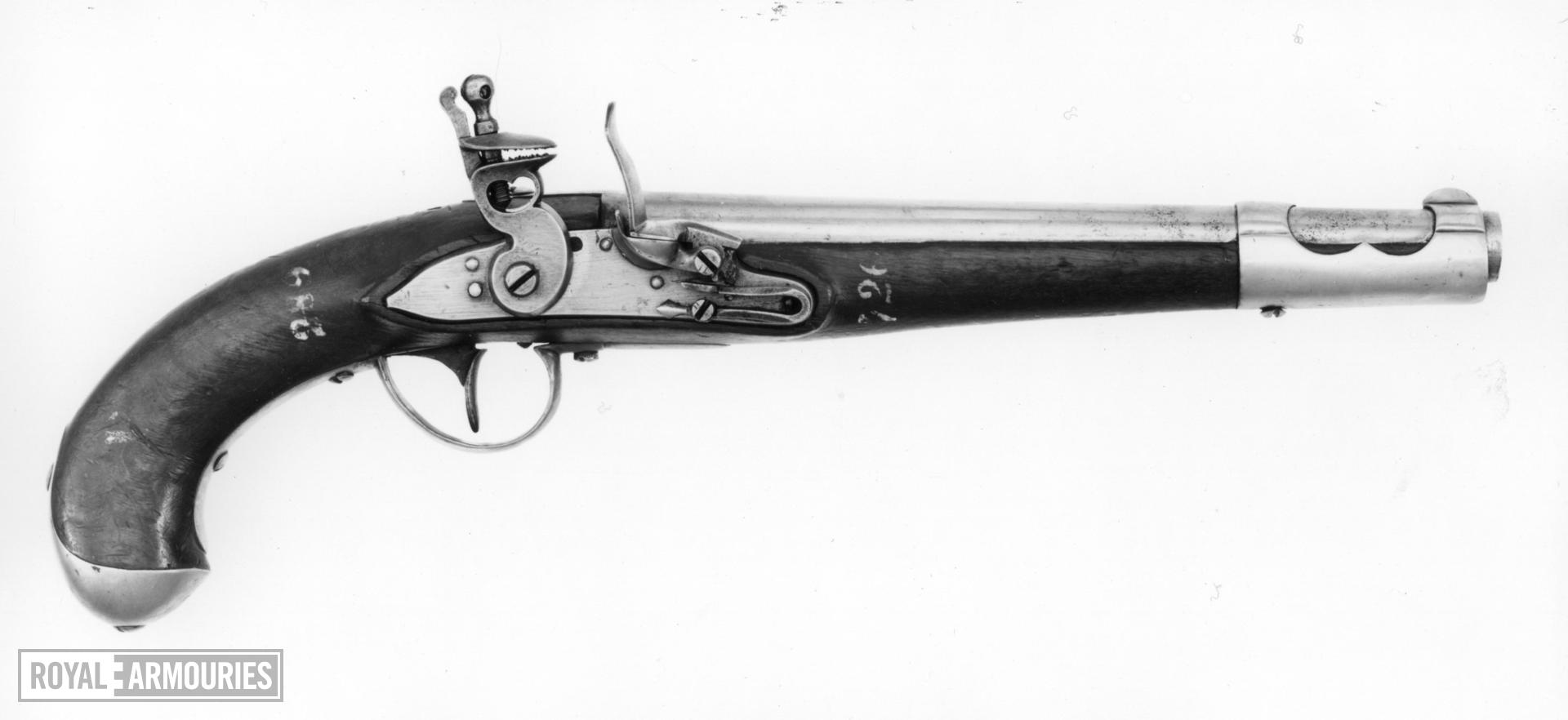 Flintlock muzzle-loading pistol - 1798 Cavalry Model