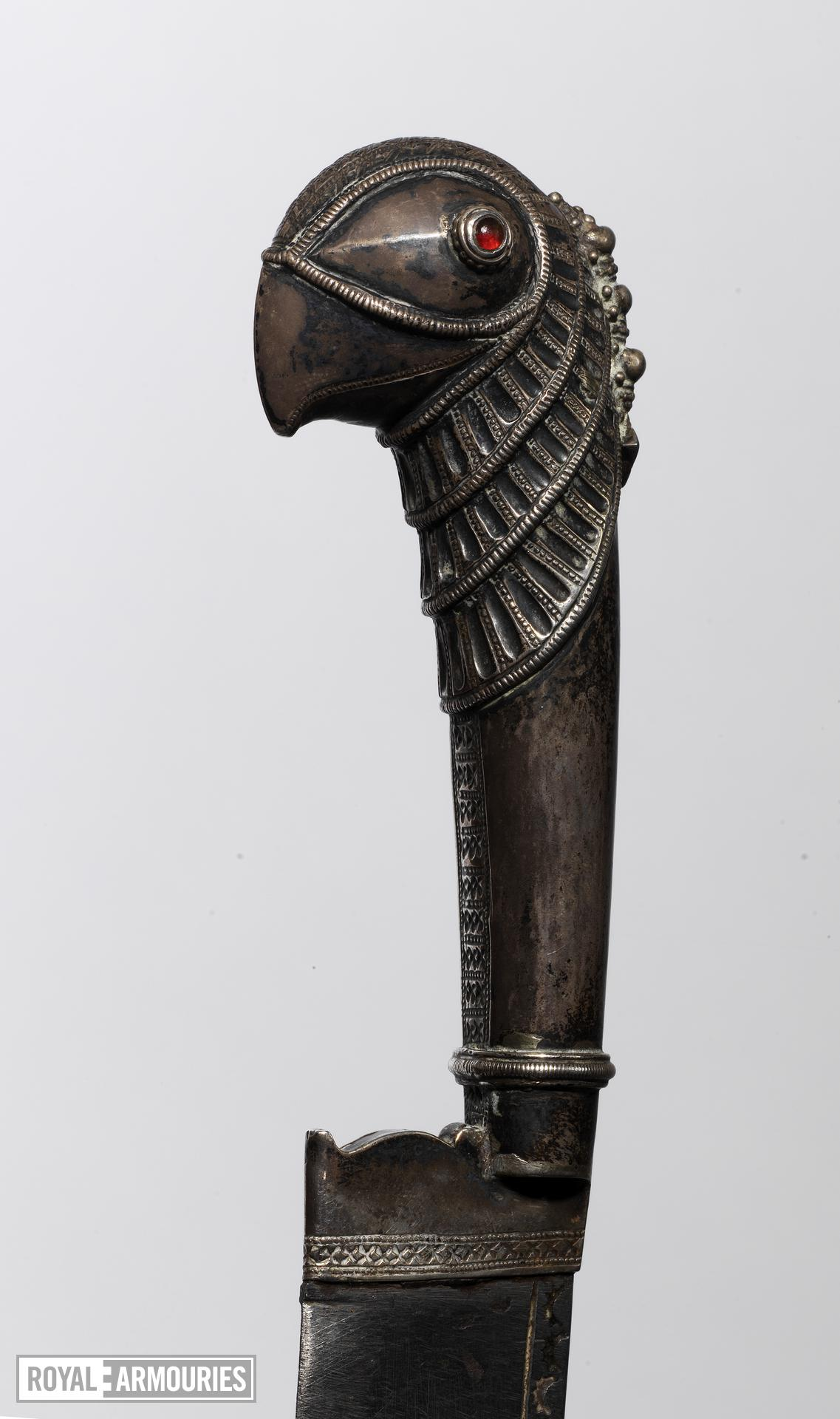 Knife (pichangatti) With implements on chain
