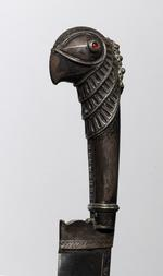 Thumbnail image of Knife (pichangatti) With implements on chain