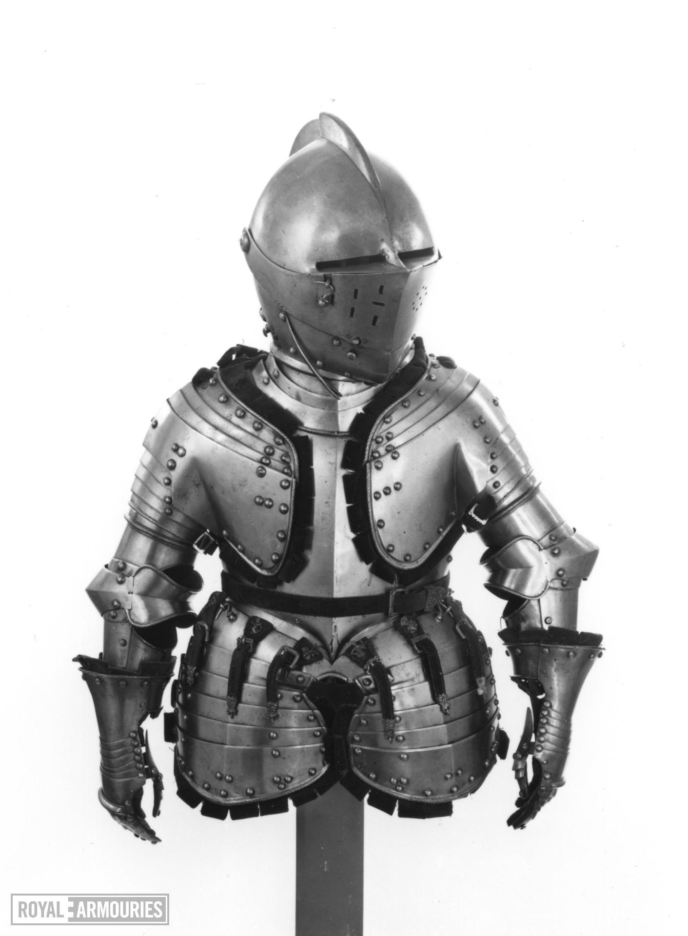 Boy's armour