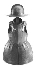 Thumbnail image of Pikeman's armour chevron embossed group