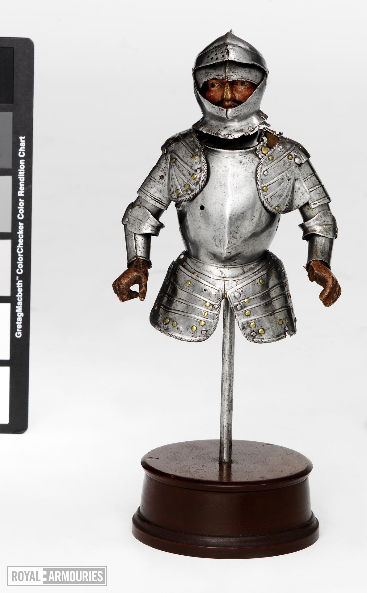 Miniature half armour Miniature half armour