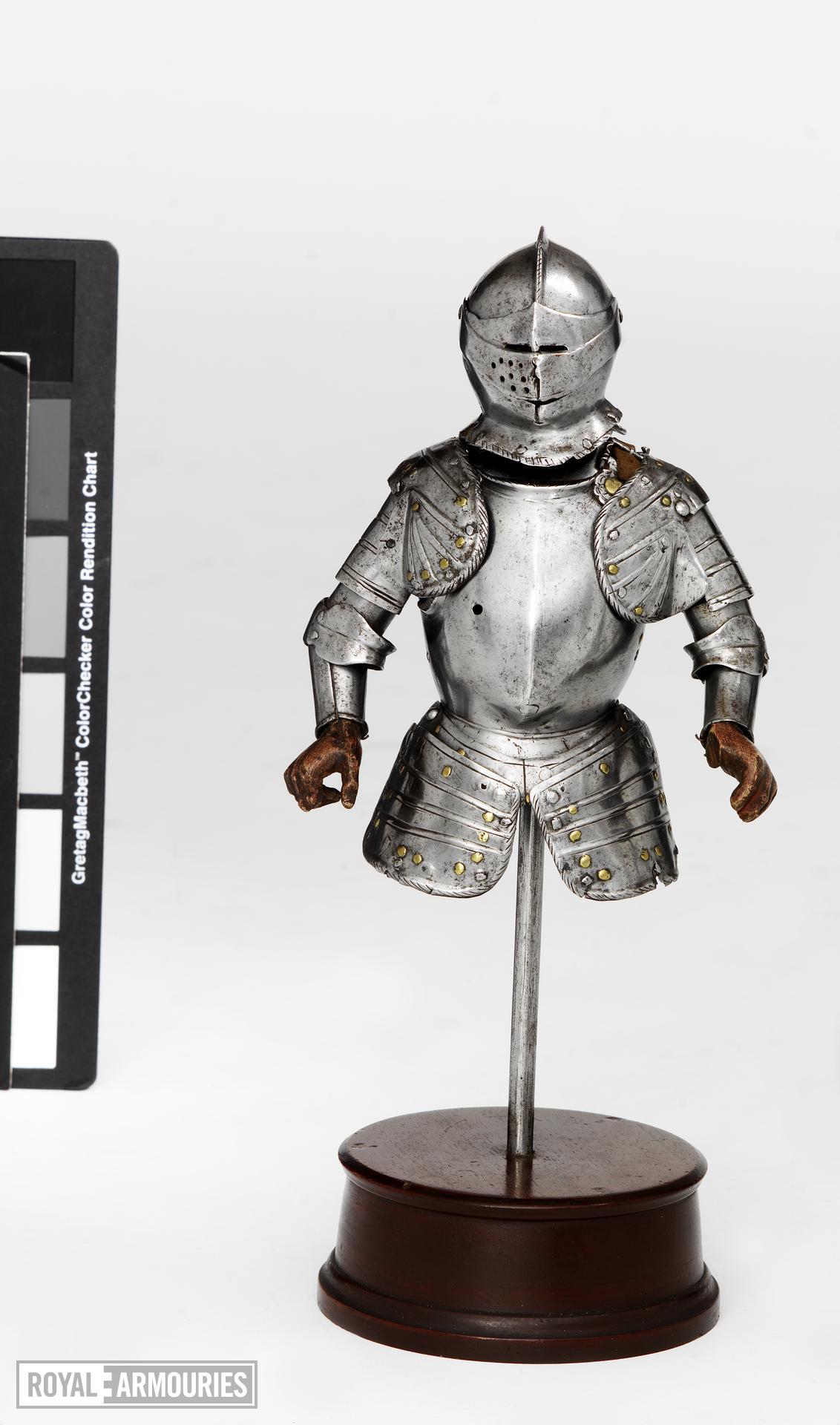 Miniature half armour