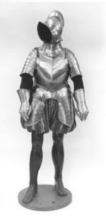 Thumbnail image of Half armour with burgonet of about 1600