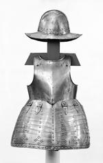 Thumbnail image of Pikeman's pot, breastplate and tassets