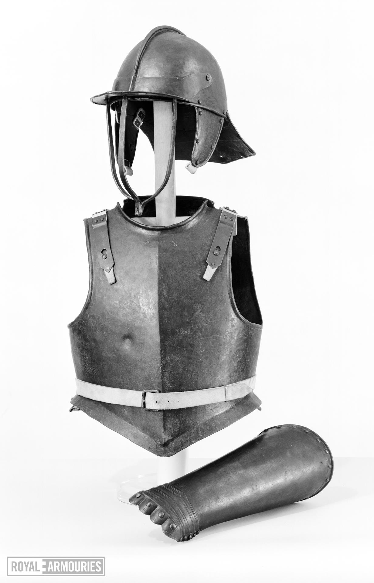 Harquebusier's armour