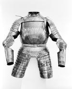 Thumbnail image of Half Armour consisting of breast and back plate, gorget, and tassets.