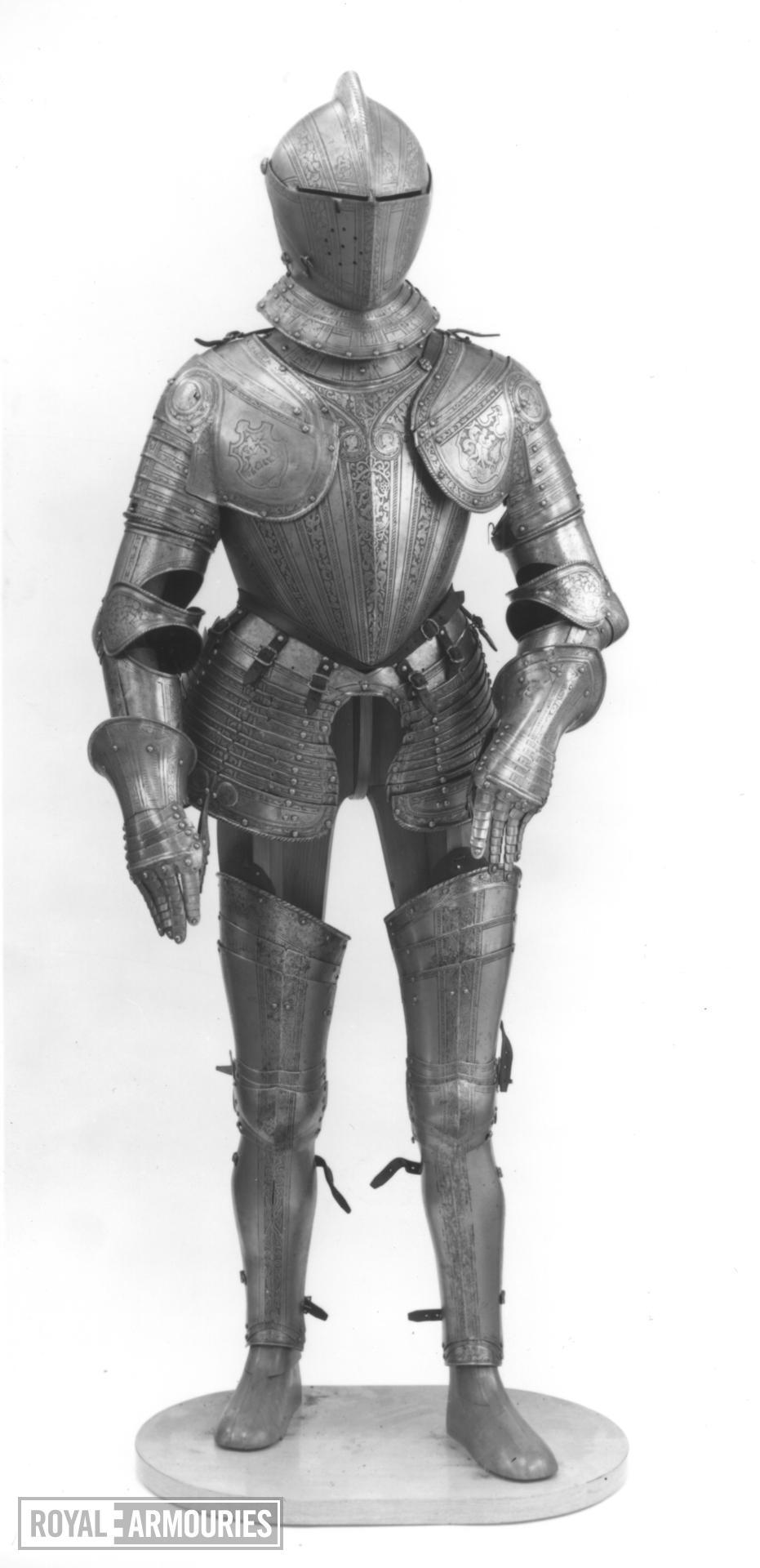 Field armour Composite armour