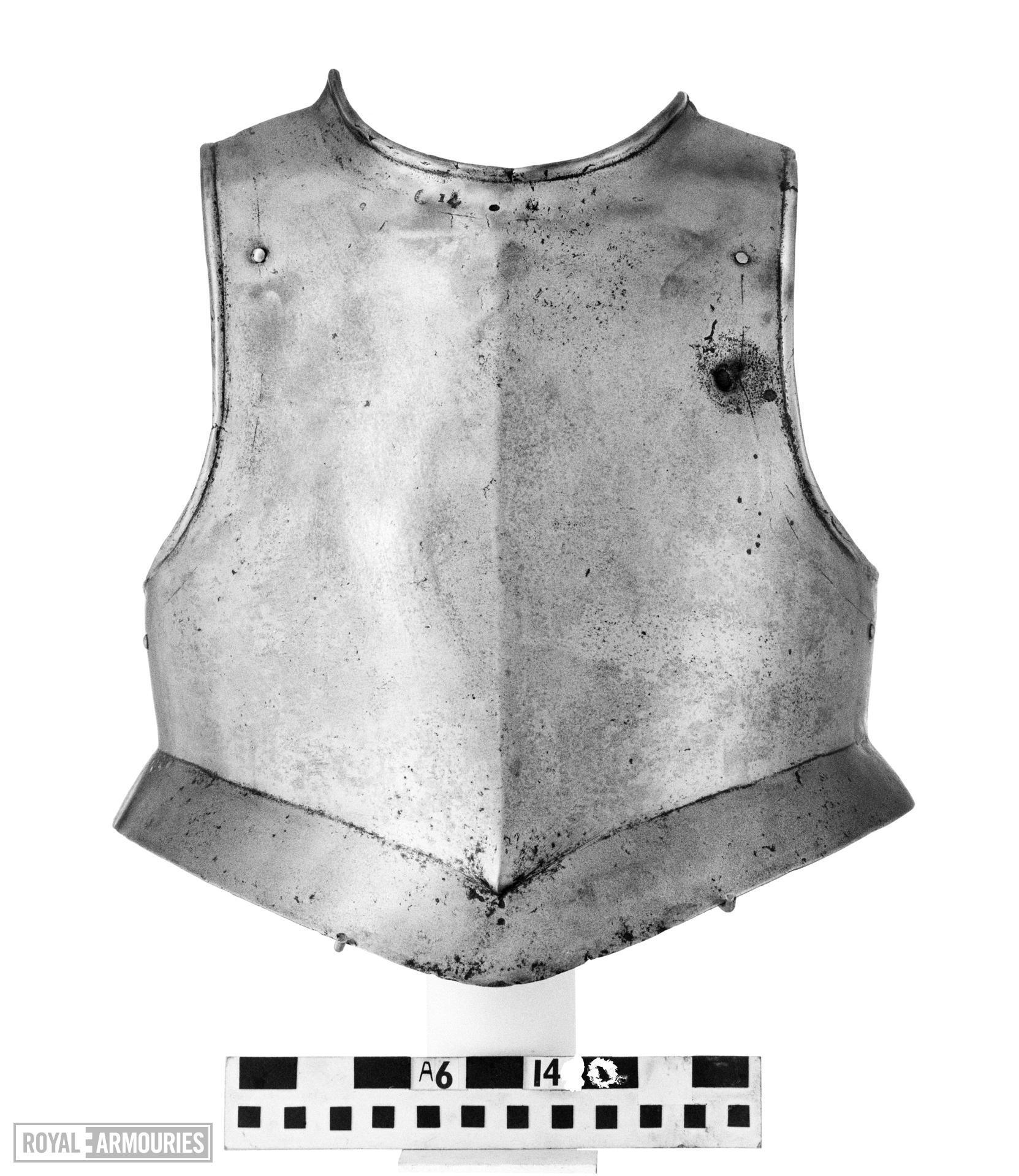 Harquebusier's breastplate