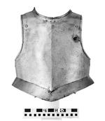 Thumbnail image of Harquebusier's breastplate Attributed to Edward Annesley