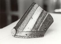 Thumbnail image of Pauldron lame The lowest lame from pauldron. Possibly from a boys armour.