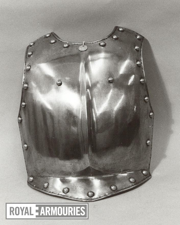 Breastplate For a Household Cavalry Trooper.
