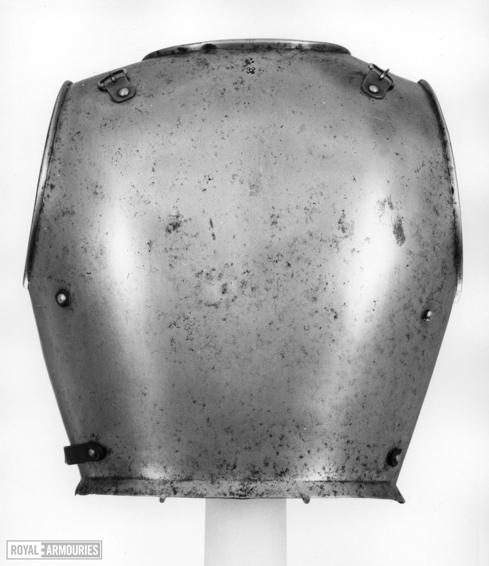 Backplate From a trooper's cuirass.
