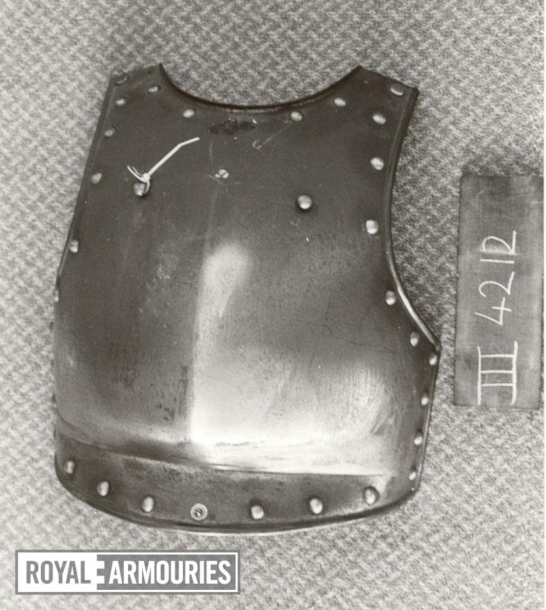 Breastplate For a trooper of the Lifeguards