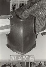 Thumbnail image of Harquebusier's breastplate For a harquebusier.