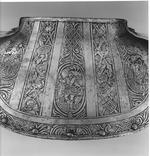 Thumbnail image of Gorget From a field armour for foot service, made by Pompeo della Chiesa (fl 1572-1593)