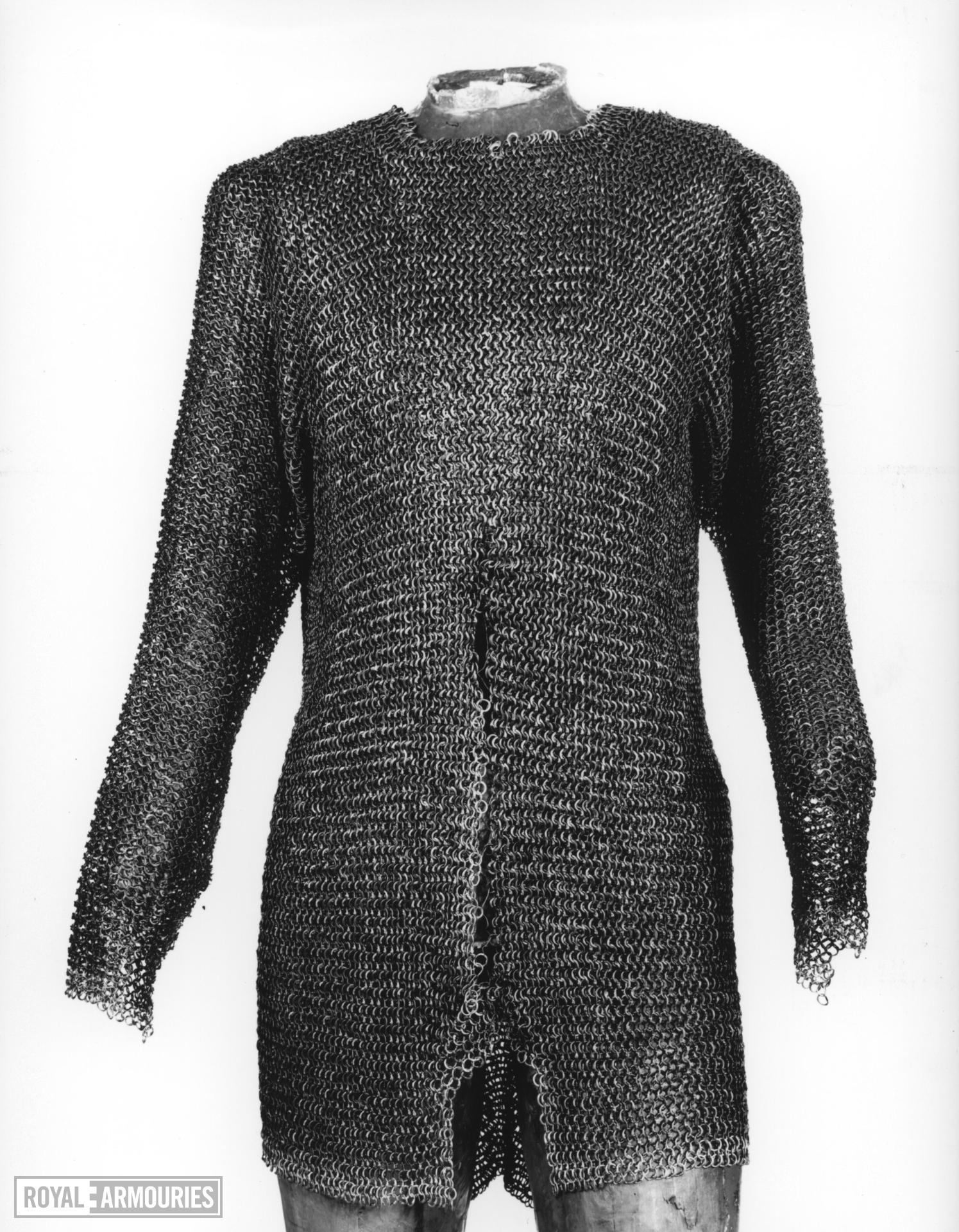 Mail shirt. Probably German, 15th century (III.4675)