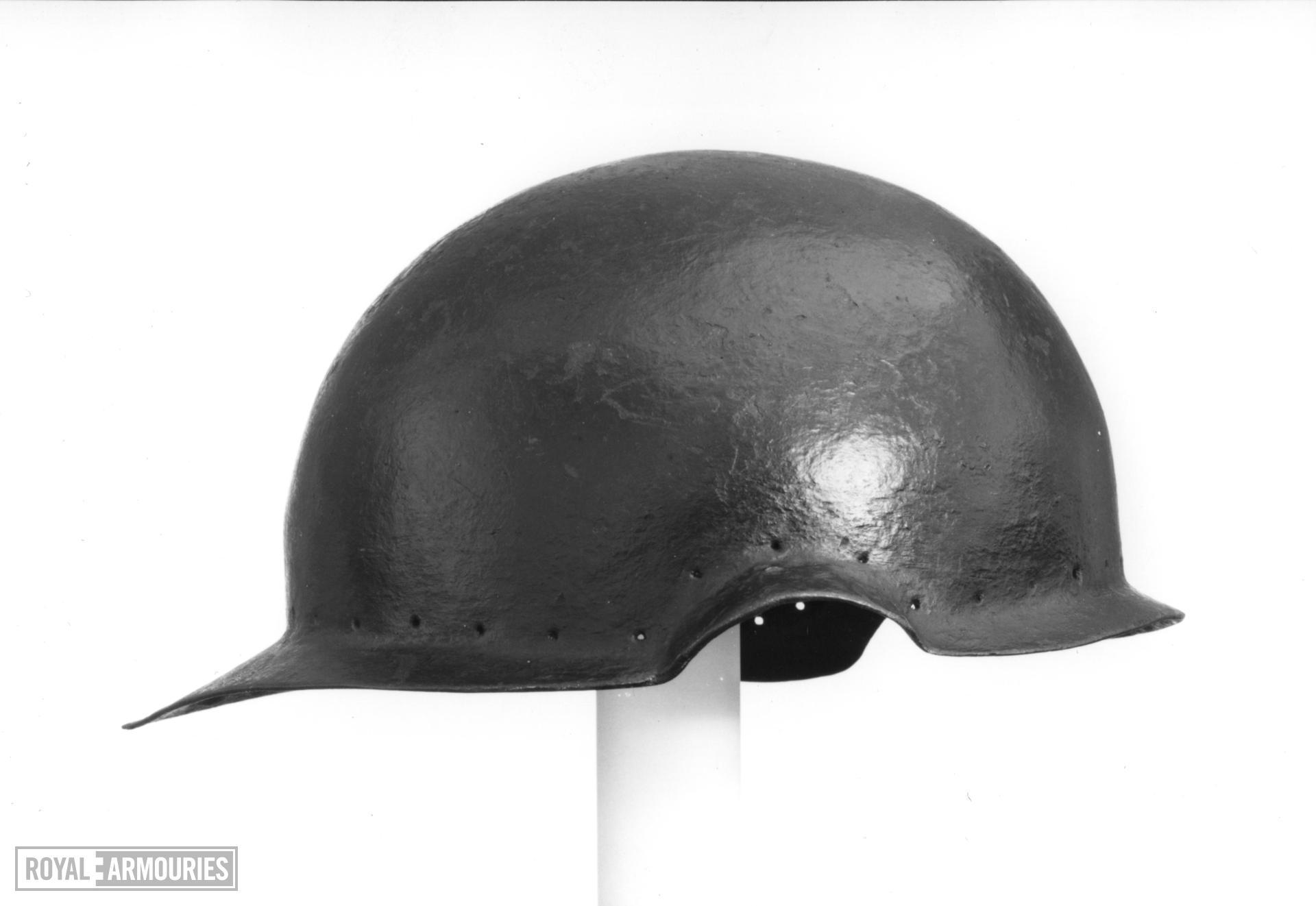 Skull cap From an Almain rivet.