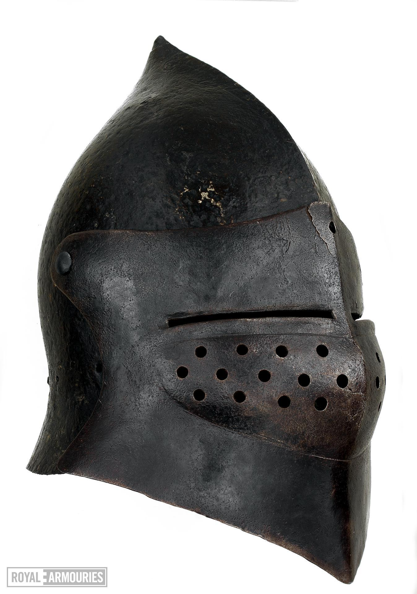 Sallet Modified into a bascinet