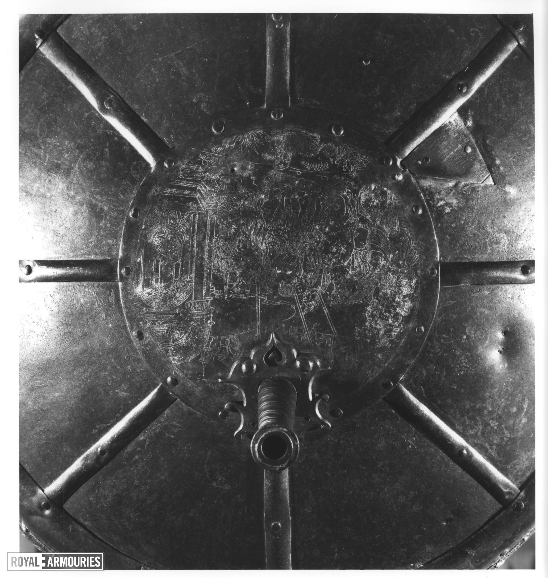 Gun shield Upper gun type
