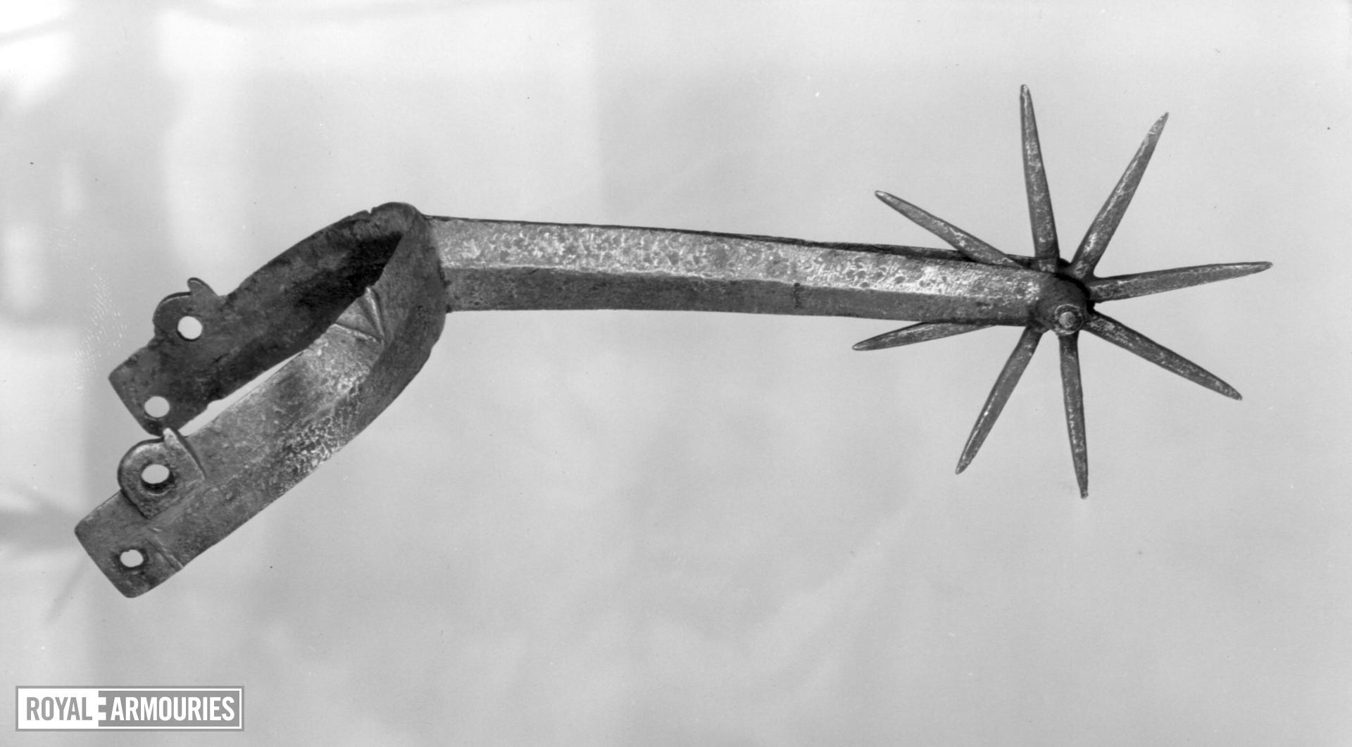 Rowel spur