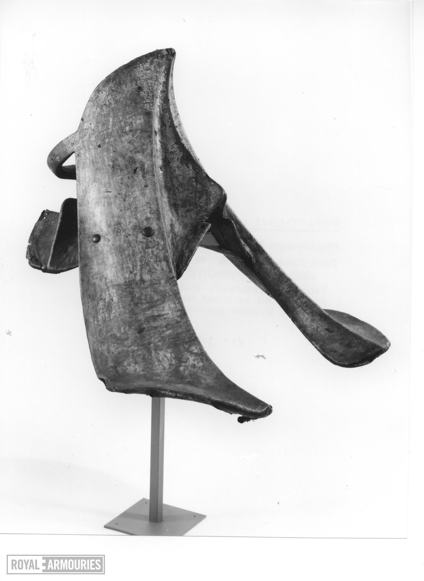 Saddle - Jousting Saddle For the Gestech im hohen Zeug