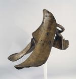 Thumbnail image of Jousting saddle for the Gestech im hohen Zeug. German, about 1500