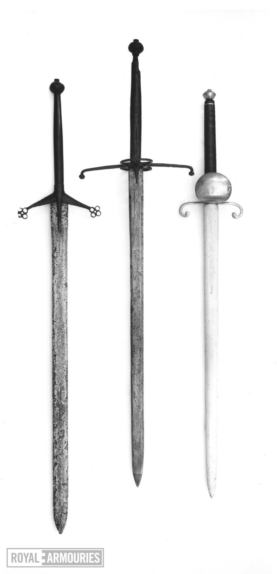 Sword - Scottish Sword of Justice Two hand sword ('Claymore'). 'Scottish Sword of Justice'.