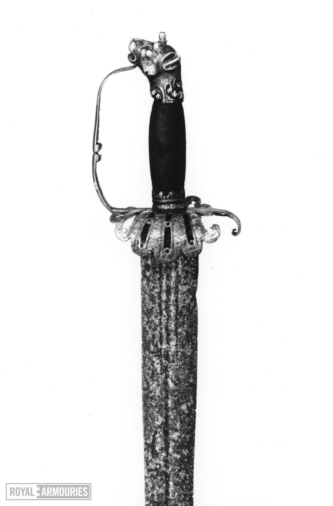 Sword Sword with hanger hilt