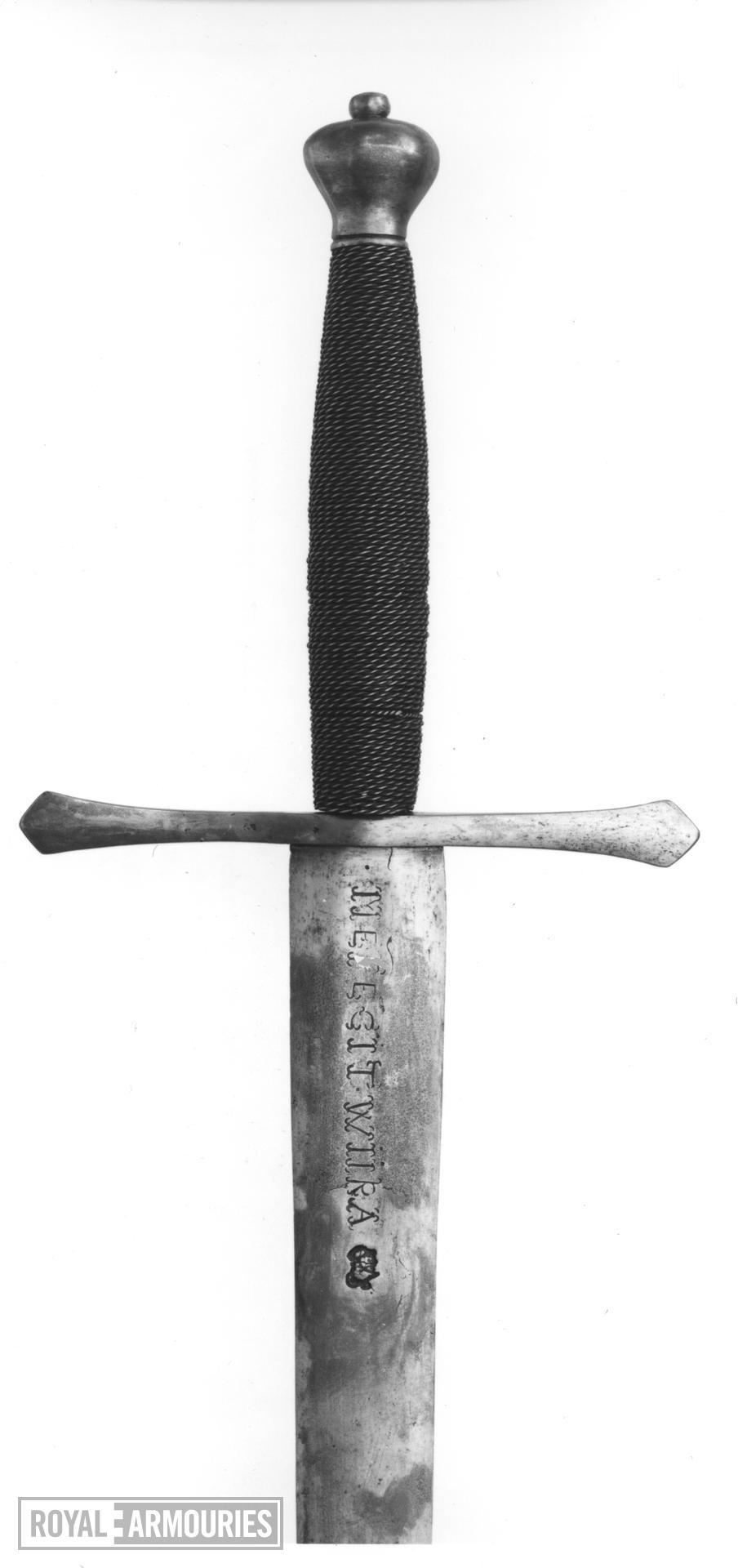 Sword - Scotch Sword of Mercy Two handed sword