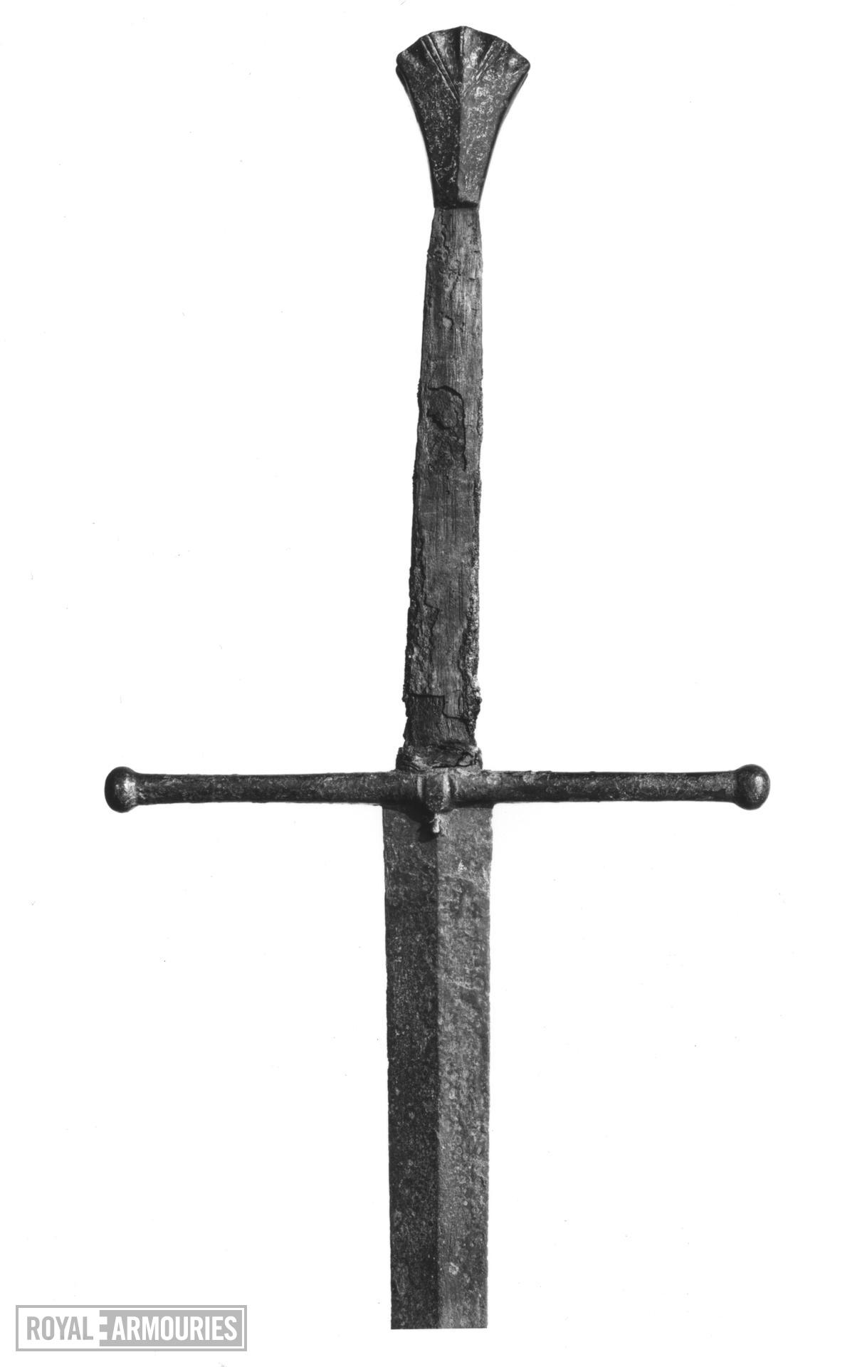 Two-hand sword. English, about 1440 (IX.1787)