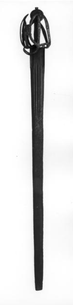 Thumbnail image of Sword Broadsword with Andrea Ferara blade, probably of Solingen manufacture