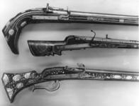 Thumbnail image of Matchlock muzzle-loading musket