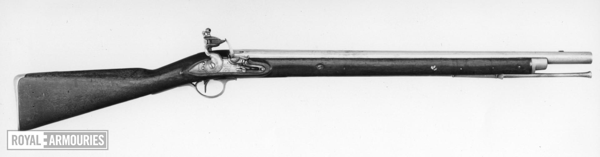 Flintlock muzzle-loading military carbine - Pattern 1796 Heavy Dragoon